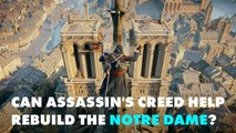 Architects may look to a video game to rebuild Notre Dame