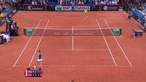 Fed Cup - Halep avait remporté un duel épique contre Garcia