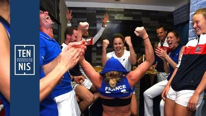 Fed Cup France-Roumanie la minute bleue n°8 : un dimanche de folie
