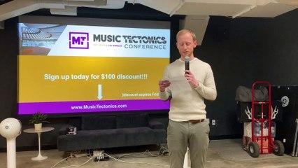 NYC MusicTech Meetup April 2019  - Keynote by Alex White, VP Content & Programming, Pandora