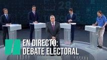 Sigue en directo el debate a cuatro de RTVE