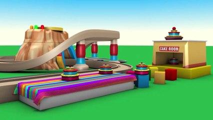 dessin animé pour enfants - chu chu train - train de dessin animé pour enfants - jouet train de vidéos pour les enfants