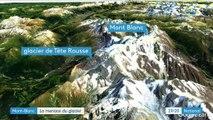 Dans le massif du Mont-Blanc, un glacier menace d'exploser