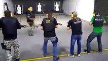 Vídeo mostra instrutor desviando de tiros em treino da Polícia Civil do Paraná