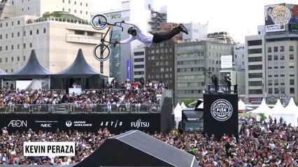 Top 5 Tricks | UCI BMX Freestyle Park World Cup - FISE Hiroshima 2019