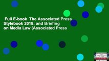 Full E-book  The Associated Press Stylebook 2018: and Briefing on Media Law (Associated Press