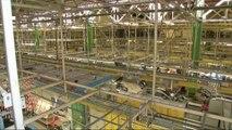 Dans l'usine PSA de Sochaux, les salariés travaillent certains jours fériés