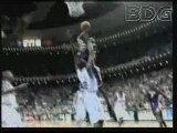 NBA BASKETBALL - Kobe Bryant Dunk On Dwight Howard