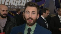 Chris Evans 'Avengers: Endgame' Premiere: FULL INTERVIEW (Exclusive)