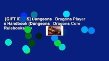 [GIFT IDEAS] Dungeons   Dragons Player s Handbook (Dungeons   Dragons Core Rulebooks) by