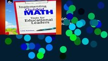 Full E-book  Implementing Guided Math: Tools for Educational Leaders  Review