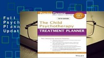 Full E-book The Child Psychotherapy Treatment Planner: Includes DSM-5 Updates  For Full