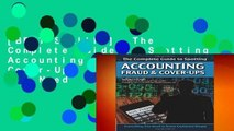 [BEST SELLING]  The Complete Guide to Spotting Accounting Fraud   Cover-Ups  Everything You Need