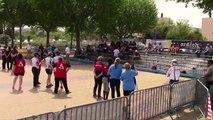 La présentation des finales, huitième étape du Super 16 féminin, Bourg-Saint-Andéol 2019