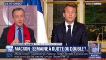 Macron: semaine à quitte ou double ?