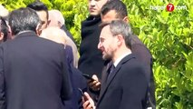 Cumhurbaşkanı Erdoğan ve Ekrem İmamoğlu cenaze töreninde bir arada - Video 7