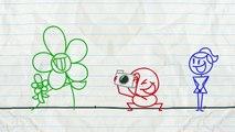 Crayon Amusant Obtient une Vilaine Surprise! -in - COUCHES pour un AUTRE JOUR - Animation Enfants Dessins animés