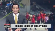 6.4 magnitude earthquake strikes the Philippines on Tuesday