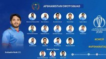 ICC Cricket World Cup 2019 : Afghanistan Name 15-Players Squad For 2019 World Cup || Oneindia Telugu