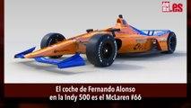 El coche de Fernando Alonso para las 500 Millas de Indianápolis 2019