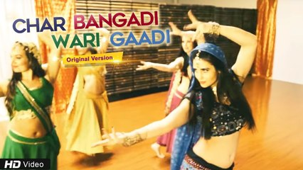 Hit Gujarati Song   Char Bangadi Wari Gaadi   Original Official Video   Kathiawadi King