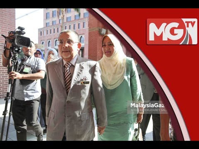 Isa Samad dan isteri beri keterangan di SPRM hari ini