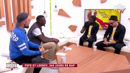 Féfé et Leeroy : 365 jours de Rap - CLIQUE TV