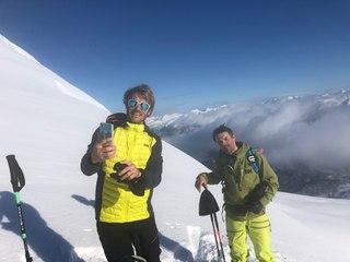 Aurélien Ducroz et François Gabart en virée dans les Fjords en Norvège - Adrénaline - Ski Freeride
