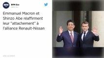 Affaire Ghosn. Macron et Abe réaffirment « leur attachement à l'alliance Renault-Nissan »