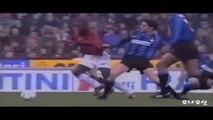 George Weah ● Skills ● AC Milan 0:1 Inter ● Serie A 1995-96