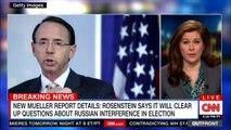 Erin Burnett's  on News Mueller report details: Rosenstein says it will clear up questions about Russian interference in Election. #DonaldTrump #MuellerProbe #Russia #News #CNN @ErinBurnett