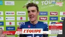Sivakov «C'est incroyable» - Cyclisme - Tour des Alpes - 2e étape