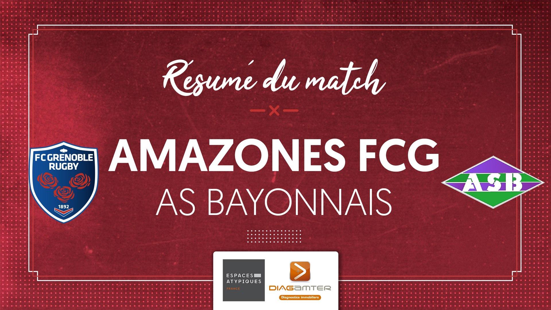 Amazones - AS Bayonnais : le résumé vidéo