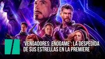 Los protagonistas de 'Vengadores: Endgame' durante la 'premiere' en Los Ángeles