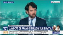 """Avocat de François Fillon: """"On va naturellement plaider la relaxe"""" sur les soupçons d'emplois fictifs"""