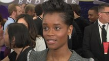 'Avengers: Endgame' Premiere: Letitia Wright (FULL INTERVIEW)