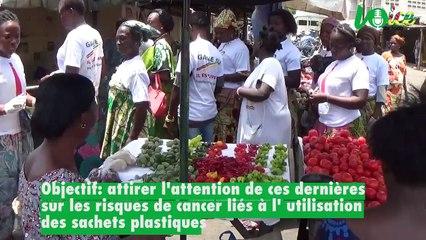 Les militantes du parti des Togolais en croissade contre les sachets plastiques