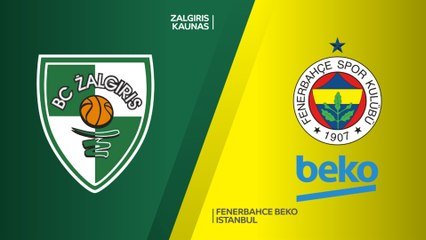 EuroLeague 2018-19 Highlights Playoffs Game 3 video: Zalgiris 57-66 Fenerbahce