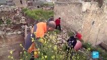 À Mossoul, les vestiges d'une synagogue occupée par l'OEI