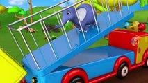 Singe Clairement toutes les Étapes dans le Jeu de Puzzle de Jeu pour Apprendre les Chiffres aux Enfants de la Forêt - Animaux pour les Enfants | Peony Noakes