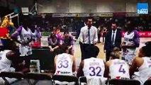"""""""C'est avec ce genre de match qu'on grandit"""". Stéphane Leite, entraîneur du Landerneau Bretagne Basket, après l'élimination à Bourges"""