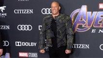 """Vin Diesel """"Avengers: Endgame"""" World Premiere Purple Carpet"""