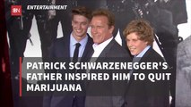 Patrick Schwarzenegger Puts Down The Reefer