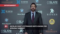 Nicolas Cage's 4 Day Ex Wife Has New Demands