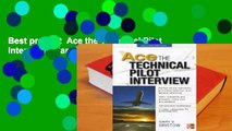 Best product  Ace the Technical Pilot Interview - Gary V. Bristow