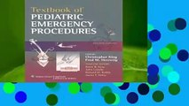 [Read] Textbook of Pediatric Emergency Procedures  For Kindle