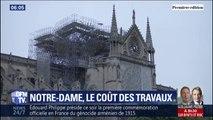 La reconstruction de Notre-Dame pourrait coûter jusqu'à 600 millions d'euros, selon notre première estimation