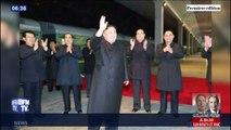 Les images du départ de Kim Jong-Un à bord de son train blindé pour rencontrer Vladimir Poutine