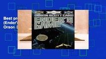 Best product  Ender's Game (Ender's Saga, #1) - Orson Scott Card