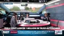 La chronique d'Anthony Morel : Tesla veut lancer 1 million de taxis autonomes - 24/04